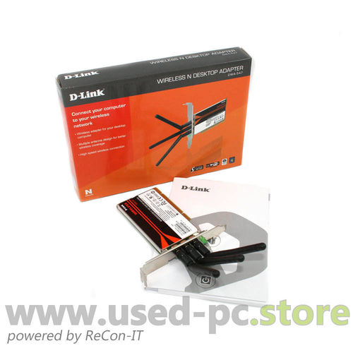 D-Link Wireless N PCIe Desktop Adapter DWA-547